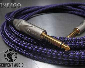 Handmade Guitar Cable - Audiophile quality - Custom made - High end instrument cable
