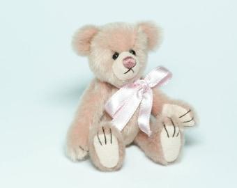 Pink Miniature Teddy Bear