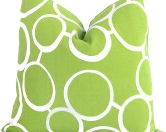 Trina Turk Green Sunglasses Indoor Outdoor Pillow Cover, Schumacher, Lumbar pillow