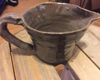 Purple-gray pitcher