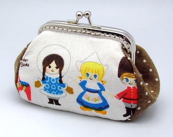 Little dolls - Small clutch / Coin purse (S-249) R1