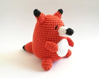 Fox Amigurumi, Fox Doll, Crochet Fox