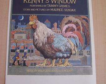 Maurice Sendak Print Kennys Window Music by Mozart
