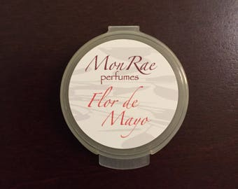 Flor de Mayo solid perfume sample
