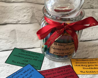1 year of Harry Potter Quotes, Hogwarts,Magical quotes, Harry Potter Fan can pick a scroll
