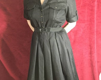 1950s style dress