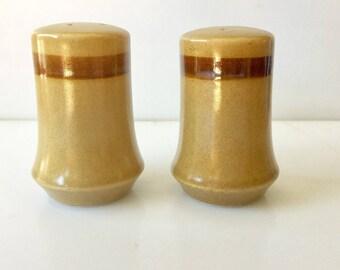 1970s Vintage CERAMIC Salt And Pepper Shakets