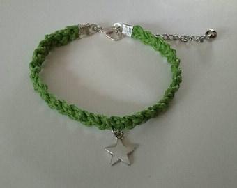 Braided bracelet-Green