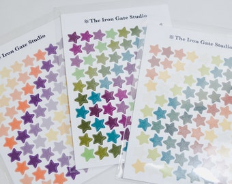 Colorful Star Stickers
