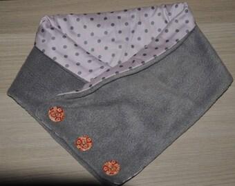 snood gray, warm, soft and feminine