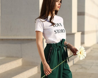 Green Casual Trousers/ Sport Pants/ Casual/ Green