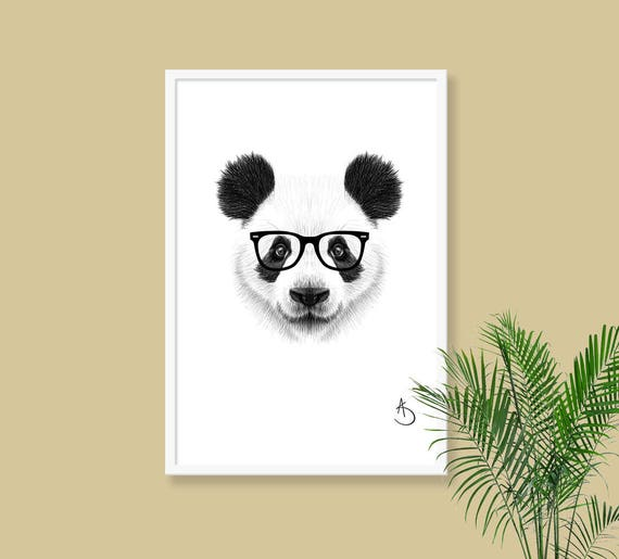 Fine Panda Wall Art Model - Wall Art Collections ...