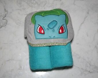 Bulbusaur Hooded Towel