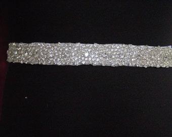 SALE BRIDAL SASH, Bridal sash, Bridal belt, crystal belt, Rhinestone belt, Bridal sash, Wedding sash/belt, Bridesmaid belt, Dress Sash/Belt