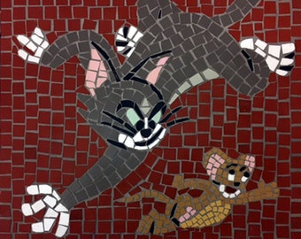 Tom & Jerry Mosaic