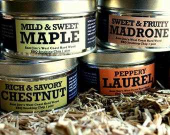 FATHERS DAY TREAT! -Grill Wood Sampler, Dad, Grilling, Cook, Chef, Gourmet, Smoker, Barbeque