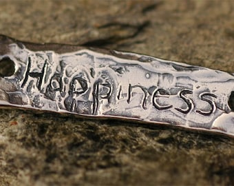 Happiness Bracelet Link in Sterling Silver, LL-196