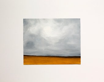 "The Wheatfield • Original 8x10"" Landscape Oil Painting by Lee Allison"