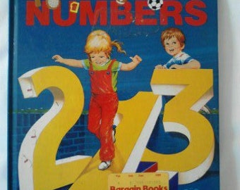 Vintage Children's Book,  A First Counting Book ECS