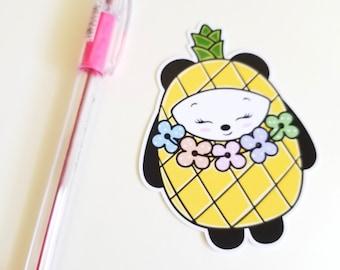 Aloha Pineapple Panda Planner Die Cut