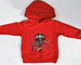 Jelly Fish Swing Hooded Sweatshirt