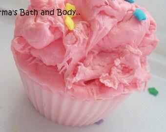 apple cupcake soap, bar soap, health and beauty, bath and body, kids soap, dessert soap, bath soap