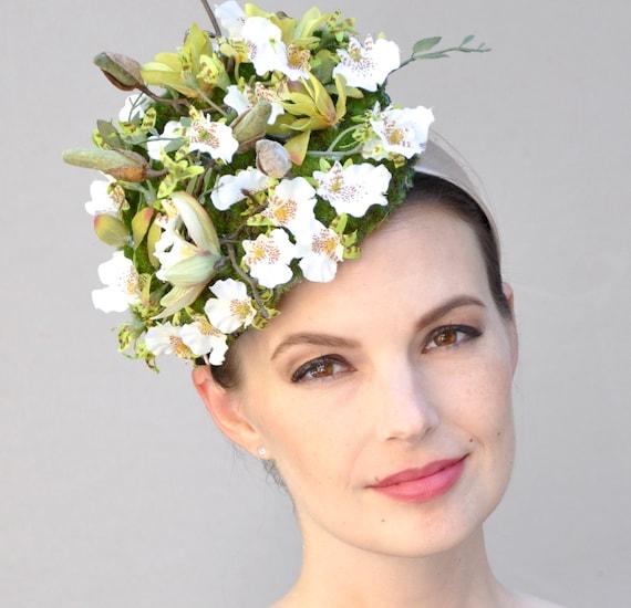 Wedding Hat Fascinator, Kentucky Derby Fascinator, Derby Hat, Derby Fascinator, Wedding Headpiece
