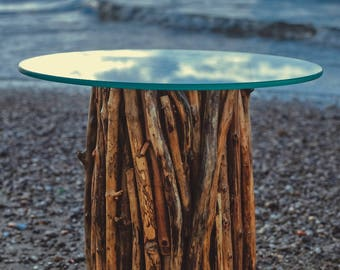"Sea Wood coffee Table ""Nettuno"""