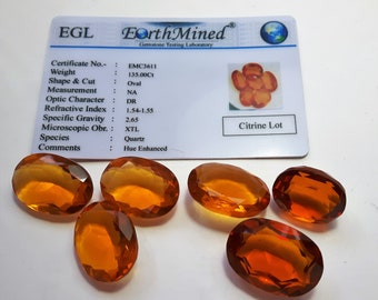 135.0 ct Natural Citrines