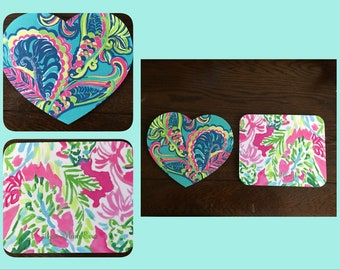 Lilly Pulitzer Inspired Mouse Pad