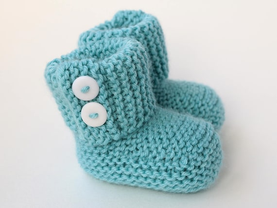 Baby Booties Knitting Pattern Baby Boots Pattern Easy Baby Pattern