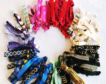 Elastic Hair Ties for New Business // Marketing and Promotional // New Customer Giveaway