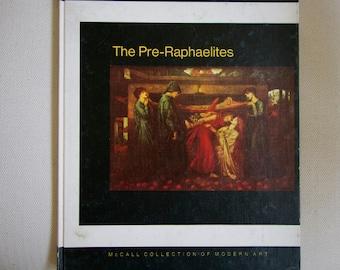 The Pre-Raphaelites vintage art book