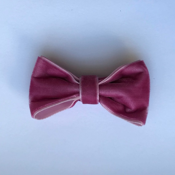 Luxe Velvet Medium Bow