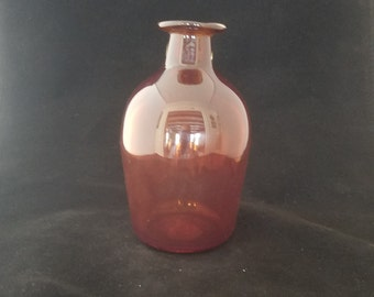 Dark amber bottle