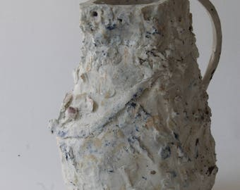 Heavy Porcelain mud jug
