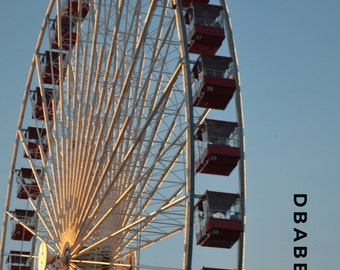 Ferris Wheel | Navy Pier | Chicago | Travel Photography | Digital Photography | Wall Art | Poster | Home Decor |
