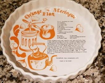 Vintage 1960's Retro Ceramic Dish