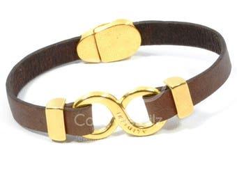 Mothers Day Gift Gold infinity bracelet, women infinity jewelry, gold engraved bracelet, personalized bracelet, engraved jewelry, couples br
