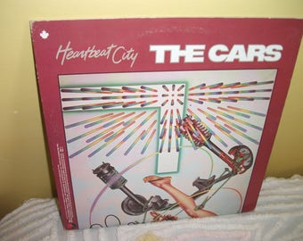 The Cars Heartbeat City Vinyl Record album GREAT CONDITION