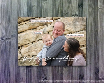 Happy Everything Photo Holiday Card | HC37
