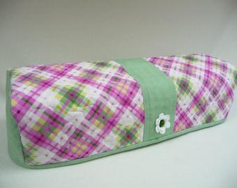 Emerald Plaid - Quilted Cricut Explore Cozy - Explore Cozy - Explore Dust Cover