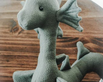 Loch Ness Sea Monster serpent snake- custom made