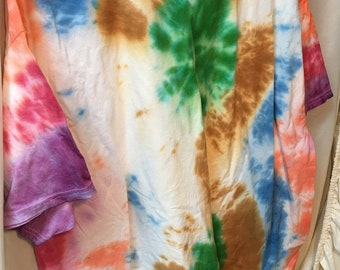 Tie Dyed T-Shirt Adult 2X  (A2x-10)