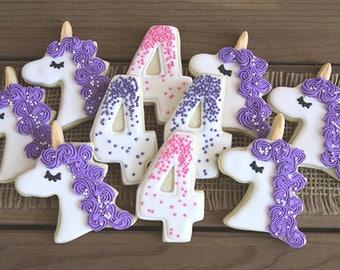 Unicorn Cookies / Unicorn Birthday / Unicorn Party / Unicorn First Birthday / Unicorn Poop / Unicorn Party Favor / Unicorn Party Decor