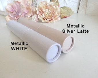 Wedding Scroll Tube - Mailing tube - Invitation - Cardboard Scrolling Tubes - Holder - Invitation solid tube - Pure Invites