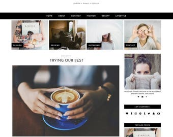 "Wordpress Theme ""Moonrise"" 