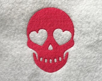 Love Skull DOWNLOAD DIGITAL Design 4x4