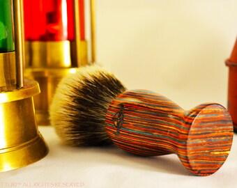 Silvertip Badger Brush The Pakkawood  by ARTTURI™