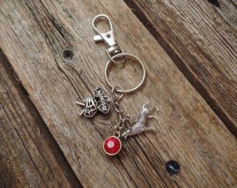 Teen Wolf Scott McCall Inspired Keychain